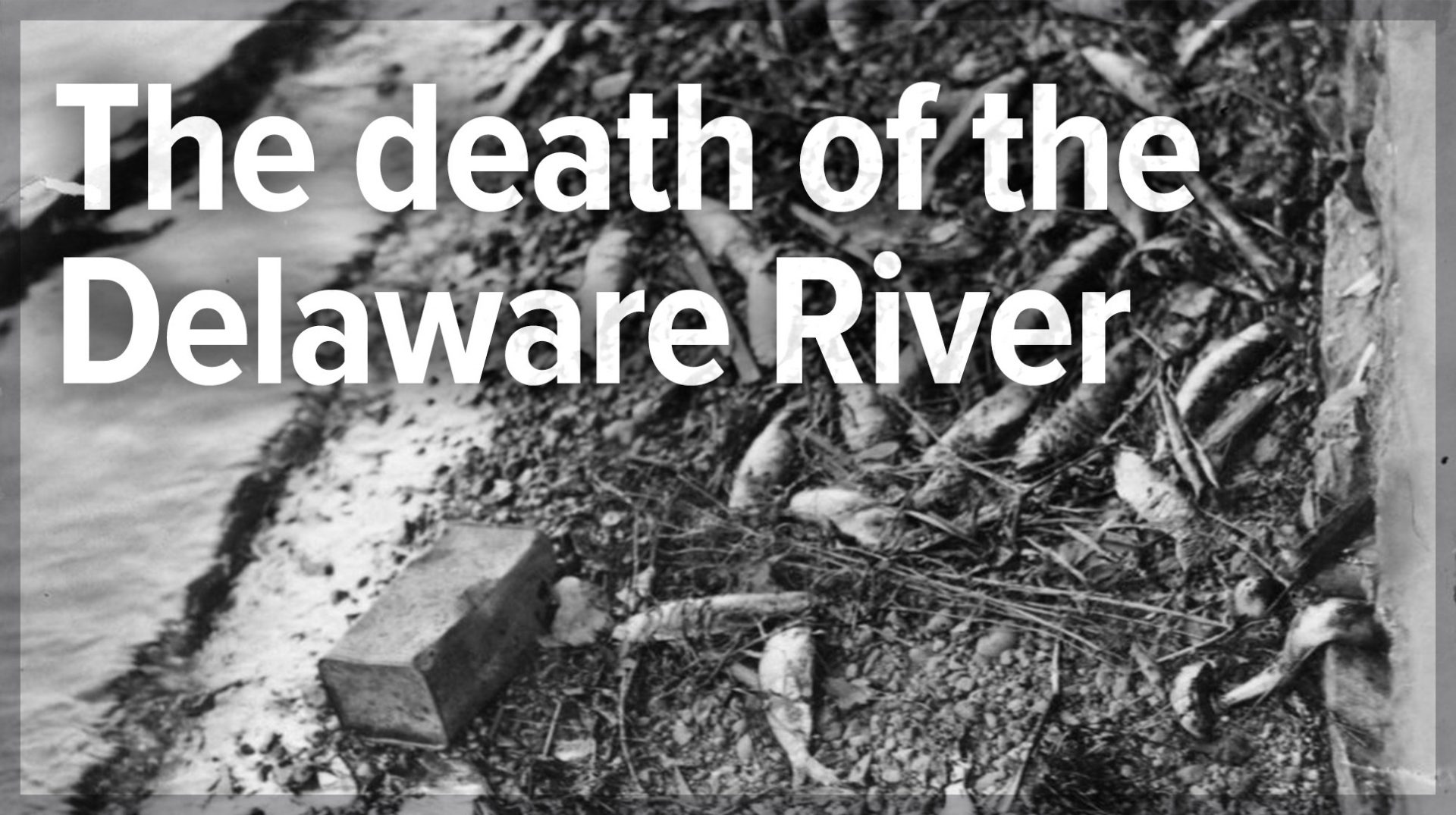The death of the Delaware River