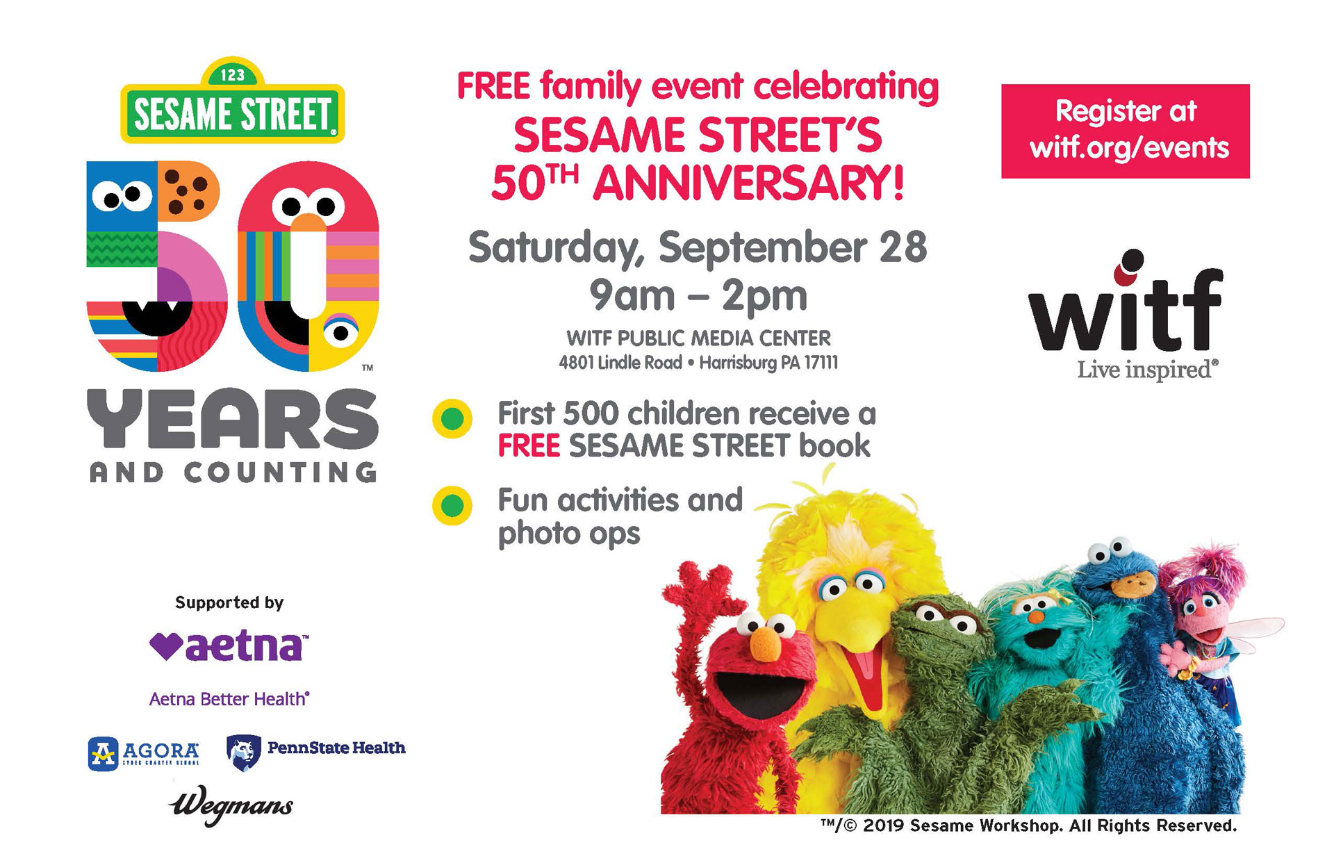 Sesame Street The Letter Of The Month Club.Sesame Street 50 Years And Counting Witf