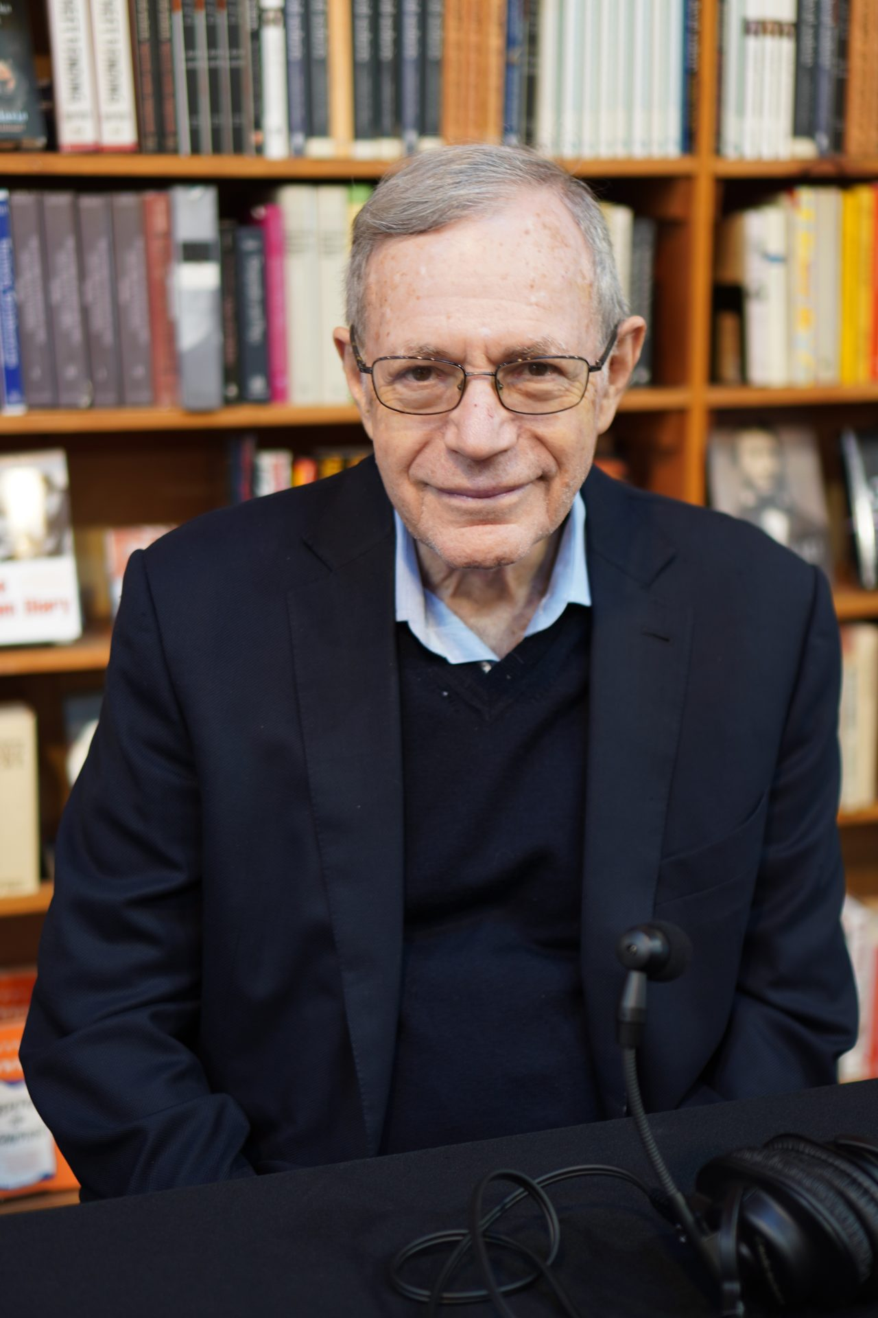 Pulitzer Prize-winning author and historian Eric Foner appears at the Midtown Scholar Book Store on October 4, 2019.