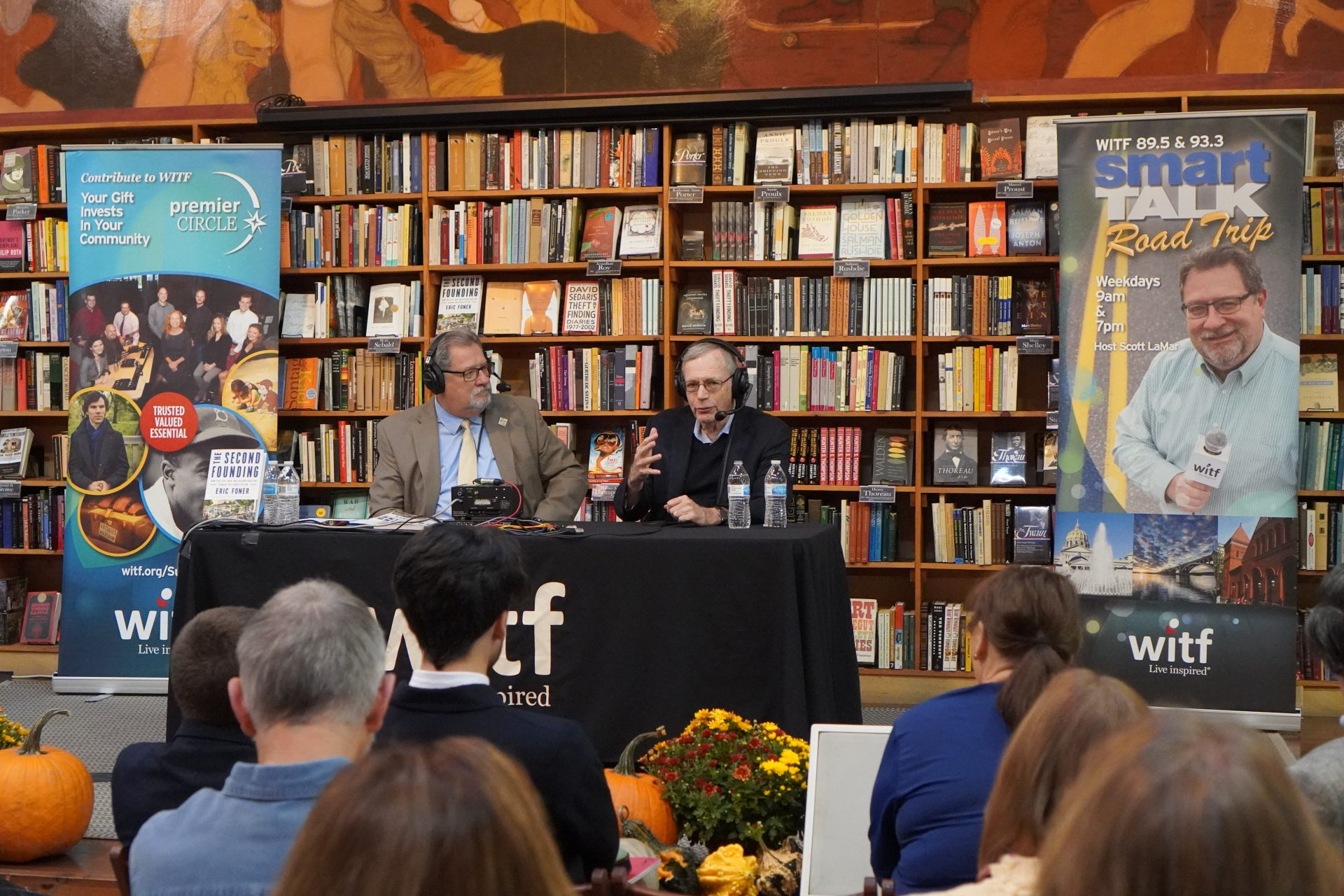 Smart Talk takes a Road Trip for Friday's program featuring Foner to the Midtown Scholar Bookstore in Midtown Harrisburg in the midst of the Harrisburg Book Festival.