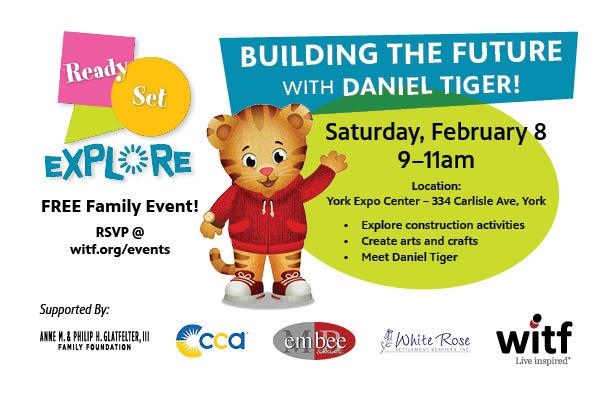 Meet Daniel Tiger at the York Expo Center