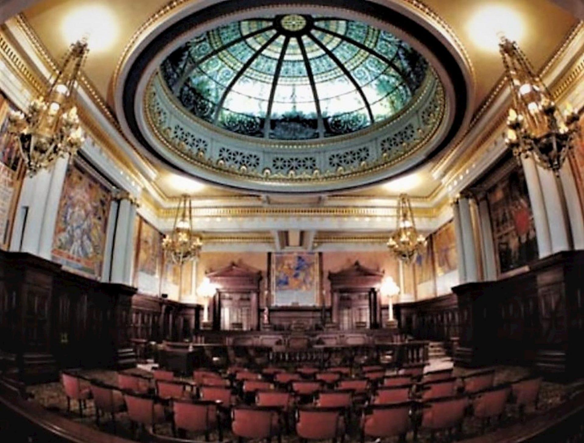 PA Capitol Supreme Court Room