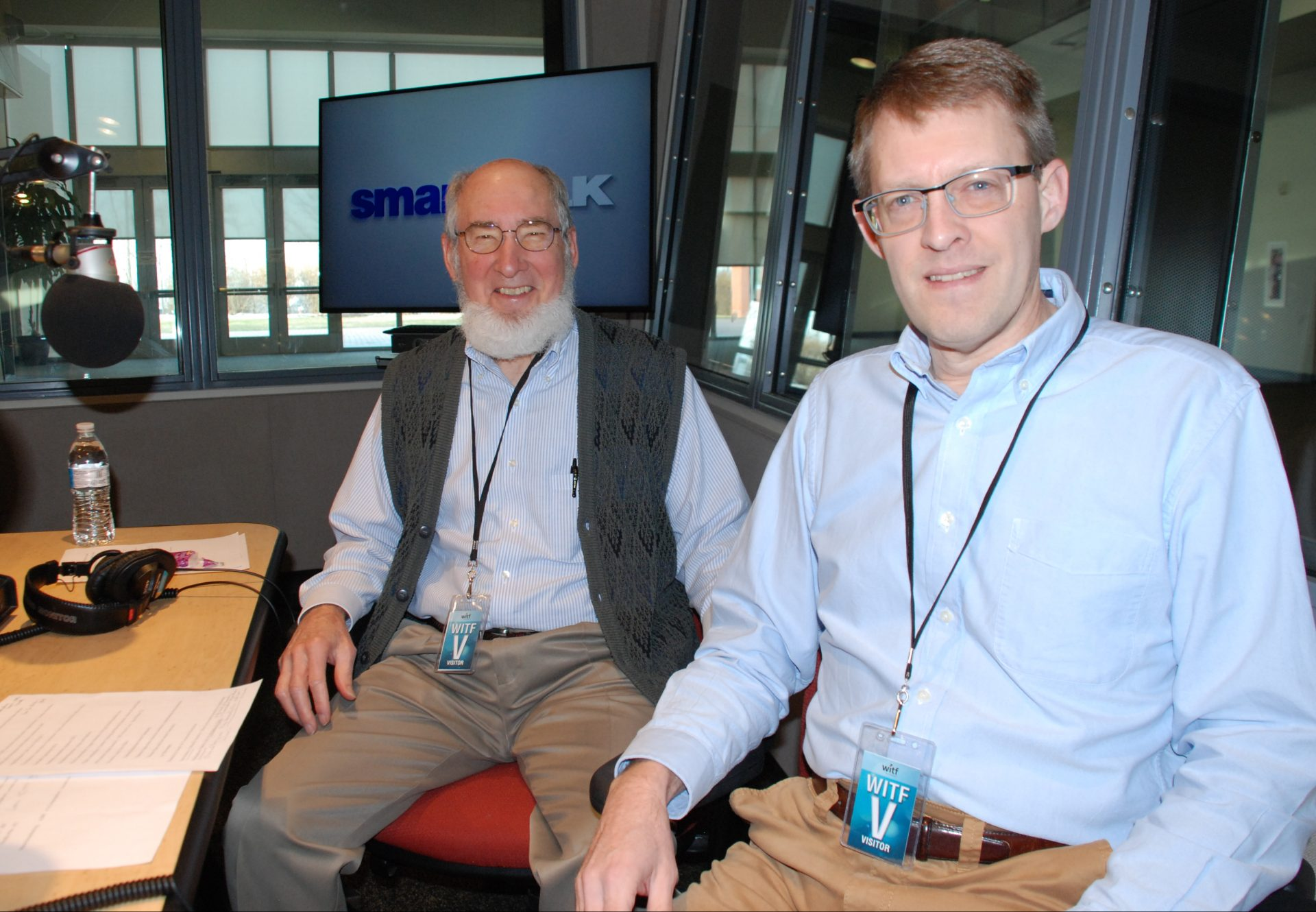 Professor Emeritus Donald Kraybill, Ph.D., and Prof. Steven Nolt, Ph.D., appear on Smart Talk on January 23, 2020.