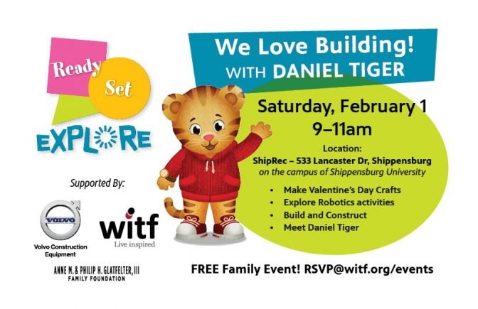 We Love Building! with Daniel Tiger