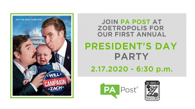 PA Post party banner