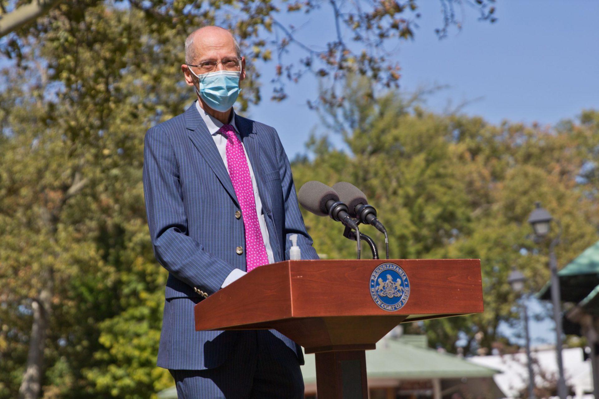 Philadelphia Health Commissioner Thomas Farley.
